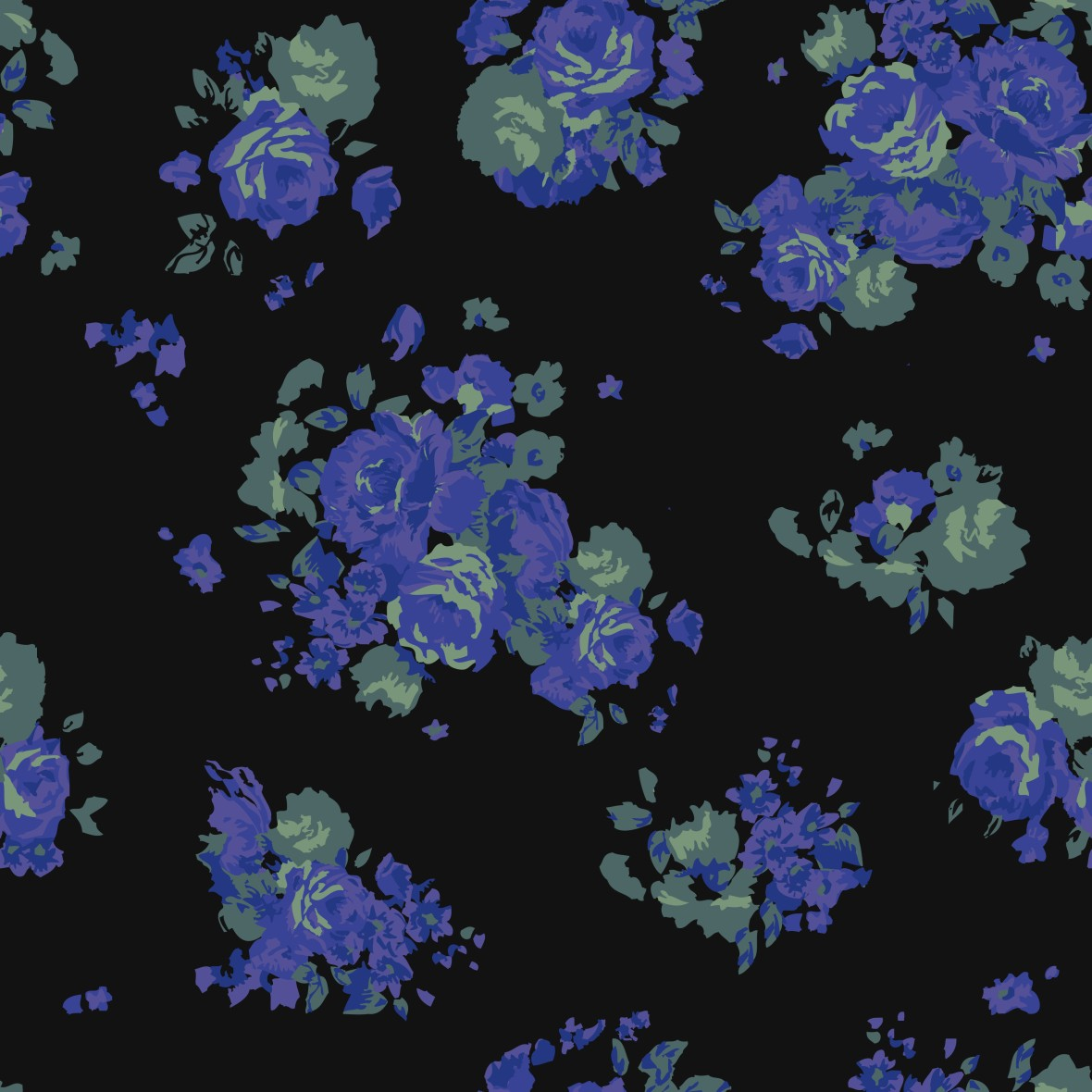 Floral colorful ditsy