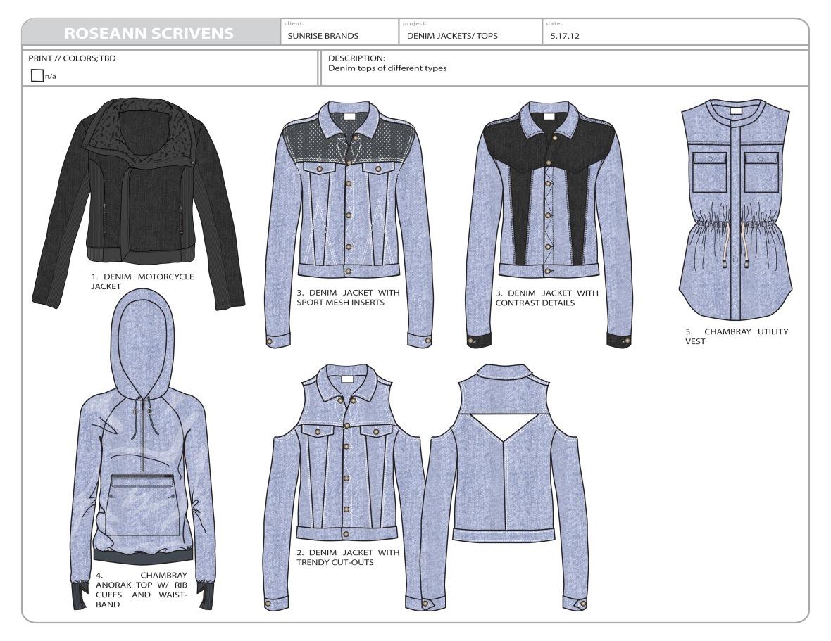 Sunrise jackets
