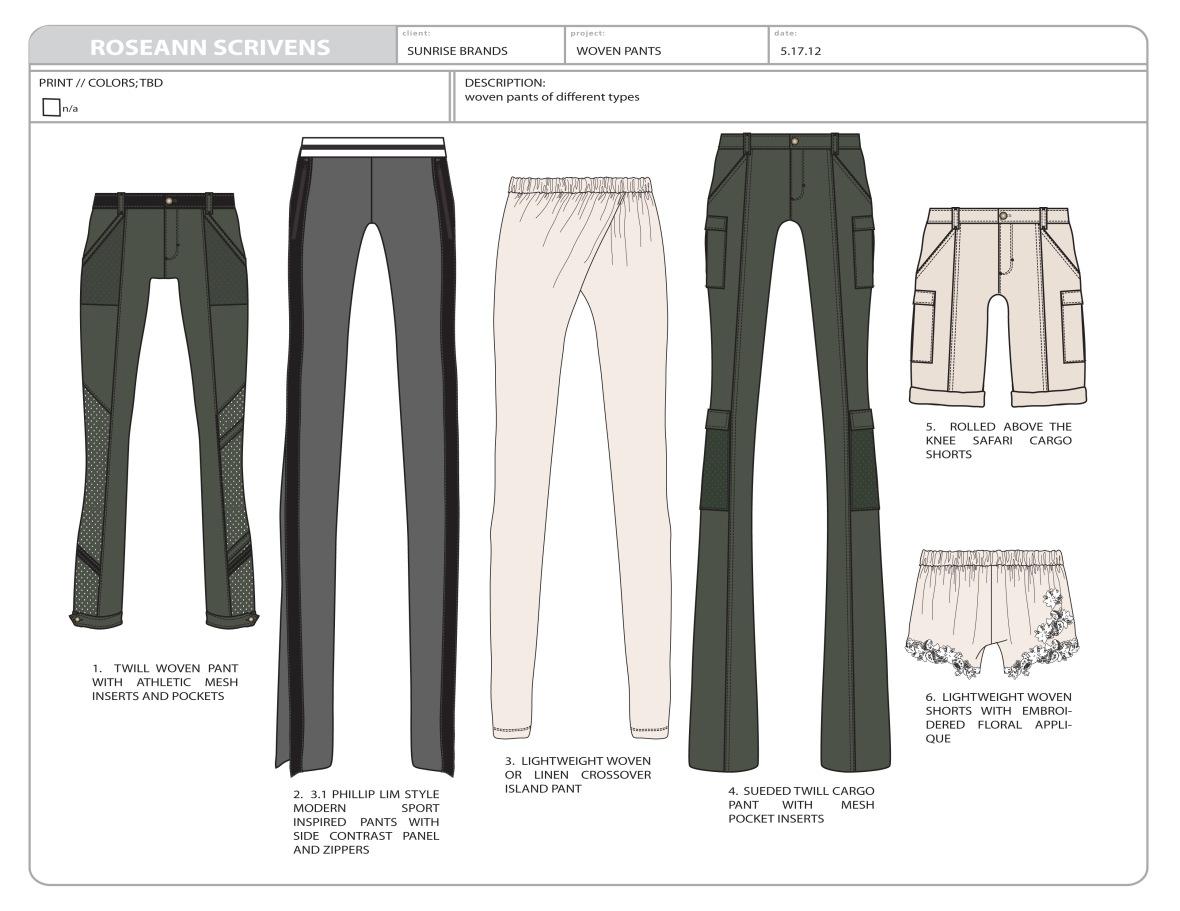 Sunrise woven pants